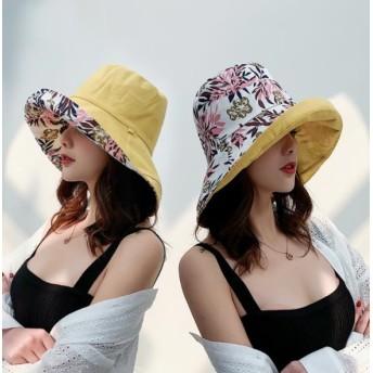 ☆夏対策☆UVカット 帽子ハット レディース 紫外線対策 日焼け防止 軽量 熱中症予防 取り外すあご紐 つば広 おしゃれ 可愛い 夏季 女優帽 小顔効果抜群 折りたたみ 旅行