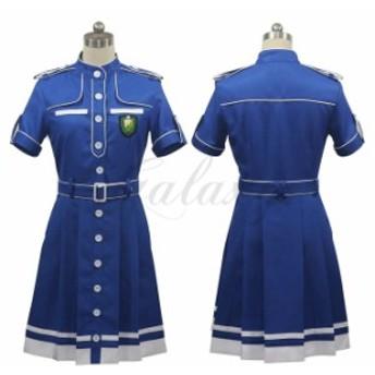 欅坂46 欅(けやき)坂46 -世界には愛しかない ブルー ワンピース コスプレ衣装 cc2265