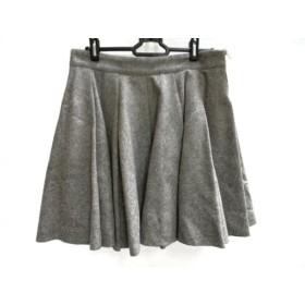 【中古】 ミューズデドゥーズィエムクラス スカート サイズ38 M レディース グレー