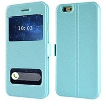 手帳型 窓付き iPhone6 iPhone6S ケース アイフォン6 アイフォン6S カバー スマホカバー 携帯ケース