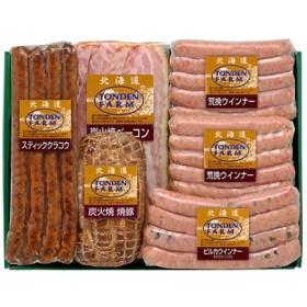 [北海道・夢工房トンデンファーム]バラエティ詰合せTF-5Y ハム・ソーセージ・肉加工品