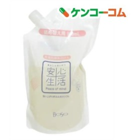 安心生活 洗濯用液体石けん 詰替 ( 900mL )/ 安心生活