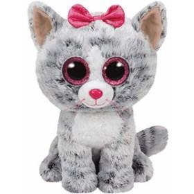 Kiki - Katze grau 15cm