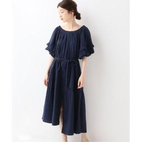 FRAMeWORK APIECE APART 2WAY dress (SANDINE DRESS) ネイビー フリー