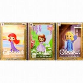 Disney Characters Q posket petit -Ariel・Sofia・Blue Fairy- 全3種セット 在庫品