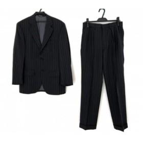 【中古】 ポロラルフローレン シングルスーツ サイズA5 メンズ 美品 ダークグレー グレー パープル