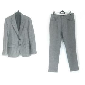 【中古】 ジャーナルスタンダード JOURNALSTANDARD シングルスーツ メンズ グレー 黒 ツイード