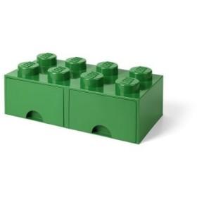 LEGO 40061734 ドロワー8 ダークグリーン おもちゃ こども 子供 レゴ ブロック