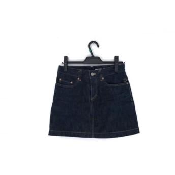 【中古】 ドレステリア DRESSTERIOR スカート サイズ34 S レディース 美品 ダークネイビー デニム