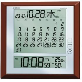 内祝い 内祝 お返し ギフト 時計 置き時計 掛け時計 セイコー 電波デジタル掛置時計 SQ421B (12) お歳暮 御歳暮