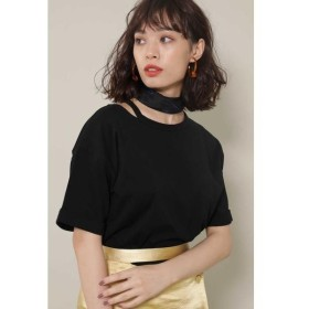 ROSE BUD / ローズ バッド スリットデザインTシャツ