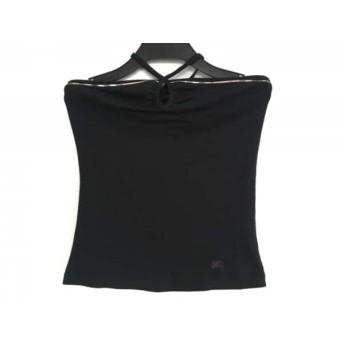 【中古】 バーバリーブルーレーベル ホルターネックキャミソール サイズ38 M レディース 美品 黒