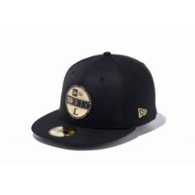 ニューエラ:59FIFTY NPB バイザーステッカー 埼玉西武ライオンズ【NEW ERA 野球 キャップ 帽子】