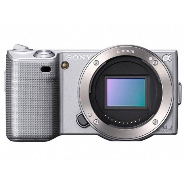 【中古】SONY ミラーレス デジタル一眼カメラ α ボディ NEX-5-S