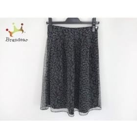ロイスクレヨン Lois CRAYON スカート サイズM レディース 美品 黒×白   スペシャル特価 20190730