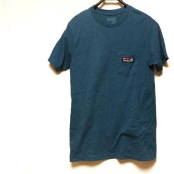 【中古】 パタゴニア Patagonia 半袖Tシャツ サイズS メンズ ブルー