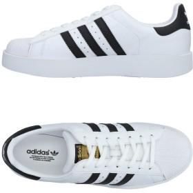 《期間限定 セール開催中》ADIDAS ORIGINALS メンズ スニーカー&テニスシューズ(ローカット) ホワイト 4 革