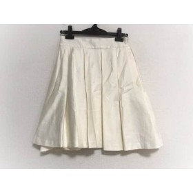 【中古】 ミリー MILLY スカート サイズ0 XS レディース 美品 アイボリー