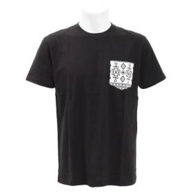 PGAC(PGAC) 柄ポケットTシャツ 871PA9BGI6338BLXWH (Men's)