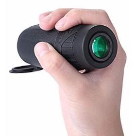 Eyeskey 単眼鏡 8X25 軽量 防水 HDスコープ 野生動物 ハイキング コンサート スポーツイベントなど用