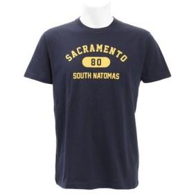 PGAC(PGAC) 【オンライン特価】 プリントTシャツ アーチカレッジ 871PA9BGI6348NVY (Men's)