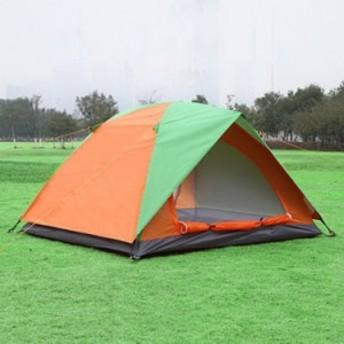 インナーテント ビーチテント アウトドア ドーム キャンプ ワンタッチ 二重ドア 簡易 2人用 旅行 サンシェード ポリエステル