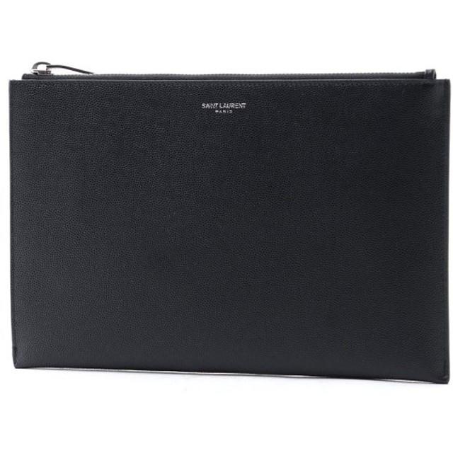 サンローランパリ SAINT LAURENT PARIS タブレットケース ブラック メンズ 375950-bty0n-1000