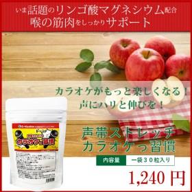 話題沸騰中!リンゴ酸マグネシウム配合!【カラオケっ習慣(1袋30球入り)】