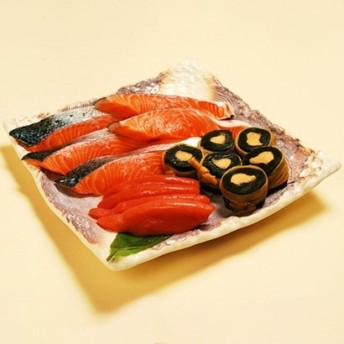 [新潟・長岡青善]「まごころ」生サーモンの味噌漬・詰合せ 和惣菜・米飯
