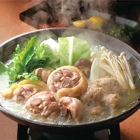 [福岡・博多華味鳥] 水たきセット 和惣菜・米飯