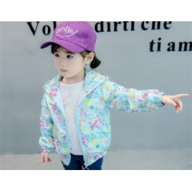 子供服 スプリングコート 春コート 女の子 トレンチコート キッズ ジュニア アウター 可愛い ジャケット  90-140cm