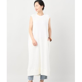JOINT WORKS 【J.C.M /ジェイシーエム】bicolor long onepiece ホワイト フリー