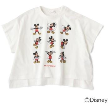 [マルイ]【セール】DISNEY ミッキーマウスデザイン超ビッグTシャツ/ビールーム(キッズ)(b-ROOM)