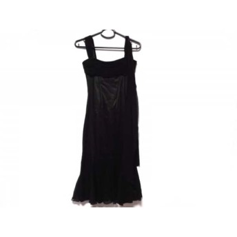 【中古】 ドルチェアンドガッバーナ DOLCE & GABBANA ドレス サイズ38 S レディース 黒