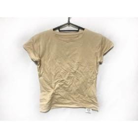 【中古】 セオリー theory 半袖Tシャツ レディース ライトブラウン