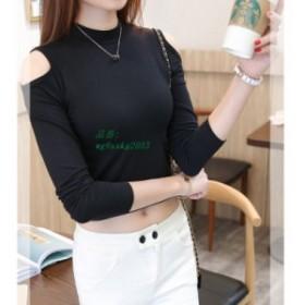 作物トップス長袖 tシャツ女性  tシャツファッション tシャツファム 2019 新品 新品 に 2019 カジュアル tシャツ韓国服