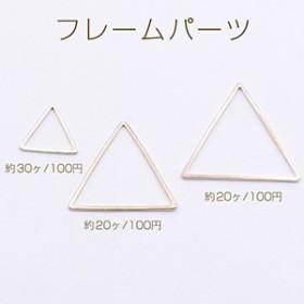 フレームパーツ 三角 3サイズ ゴールド