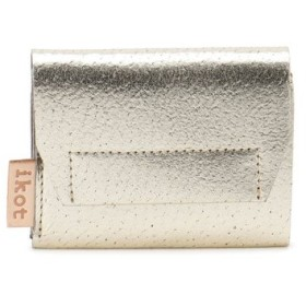 ikot / [イコット]ikot ピッグスキン メタリック 三つ折財布