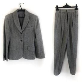 【中古】 マーガレットハウエル レディースパンツスーツ サイズ2 M レディース グレー ヘリンボーン