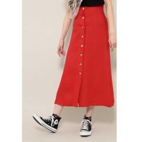 ROSE BUD / ローズ バッド フロントボタンスカート
