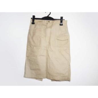 【中古】 ツモリチサト TSUMORI CHISATO スカート サイズ1 S レディース ベージュ