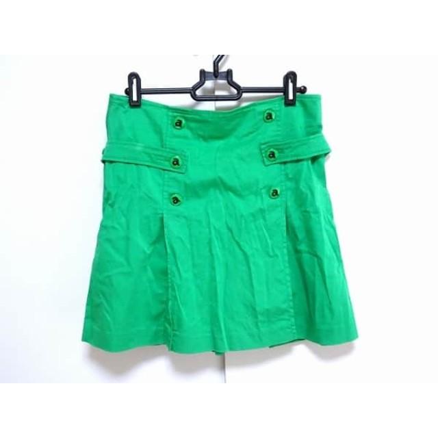【中古】 アルチビオ archivio スカート サイズ40 M レディース グリーン