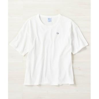 OCEAN PACIFIC ワンポイント刺繍Tシャツ レディース ホワイト