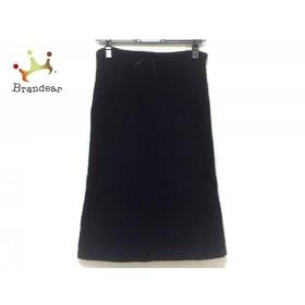 ミュウミュウ miumiu スカート サイズ38 S レディース 黒 ニット   スペシャル特価 20190705
