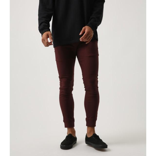 その他パンツ・ズボン - AZUL BY MOUSSY ストレッチ裏起毛裾リブパンツ