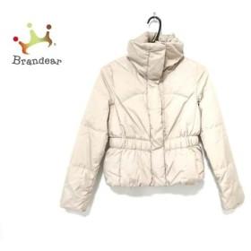 アンタイトル UNTITLED ダウンジャケット サイズ2 M レディース ベージュ 冬物 新着 20190424