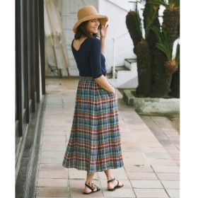 [マルイ]【セール】【マガジン掲載】LIBECO リネンロング スカート(検索番号K25)/23区 S(NIJYUSANKU S)