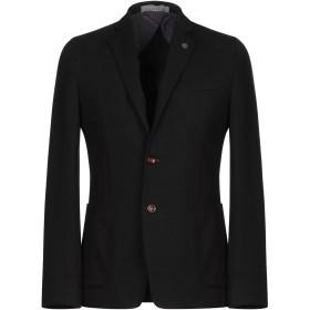 《期間限定セール開催中!》HAVANA & CO. メンズ テーラードジャケット ブラック 46 レーヨン 68% / ナイロン 27% / ポリウレタン 5%
