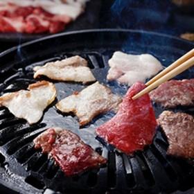 [熊本]肥後熊本牛と肥後あそび豚焼肉セット 精肉