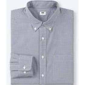 エクストラファインコットンブロードチェックシャツ(ボタンダウン・長袖)